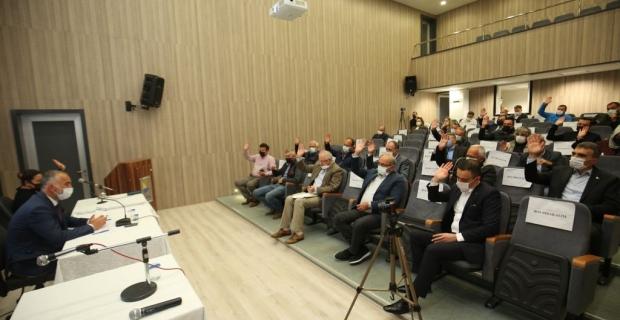 Karamürsel Belediye Meclisi 2 maddeyi karara bağladı