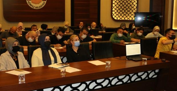 Körfez'de personele etkili yazışma teknikleri aktarıldı