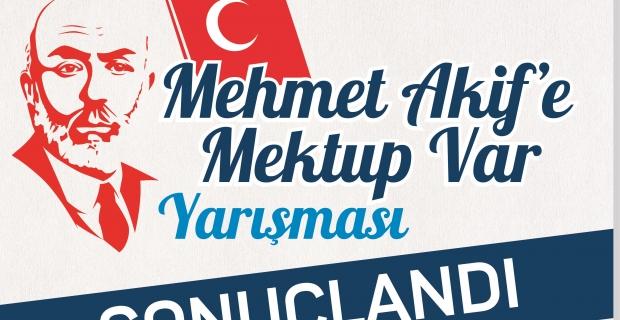 """""""Mehmet Akif'e Mektup Var"""" yarışması sonuçlandı"""