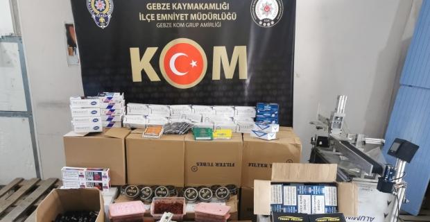 Sigara kaçakçılarına operasyon: 6 gözaltı