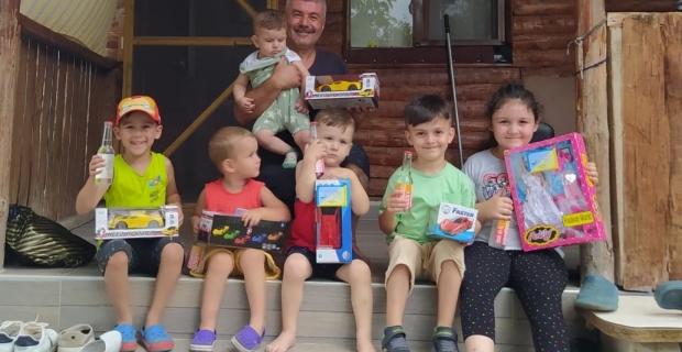Başkan Yıldırım'dan Çocuklara Bayram Hediyesi