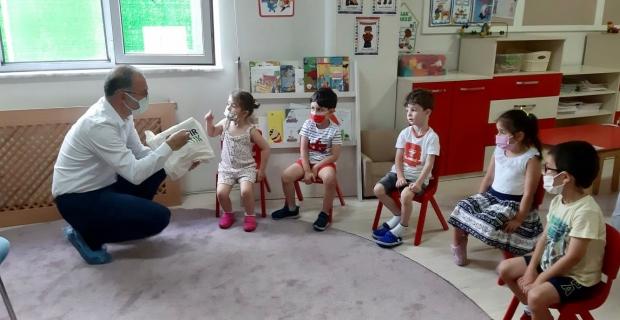 Bilgi Köprüsü'nde çevre eğitimini Emiroğlu anlattı