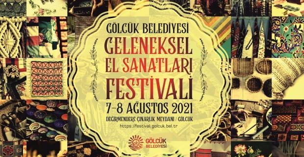 Geleneksel El Sanatları Festivali, 7-8 Ağustos'ta Değirmendere'de