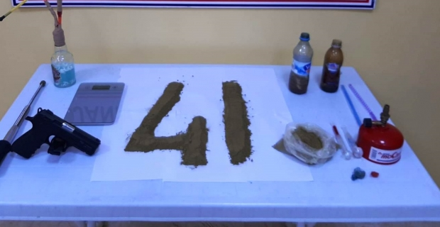 İzmit'te uyuşturucu operasyonu: 1 gözaltı
