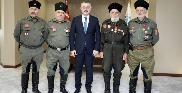 Büyükakın: Türk milleti şehitlik  ve gaziliği en büyük rütbe bilmiştir