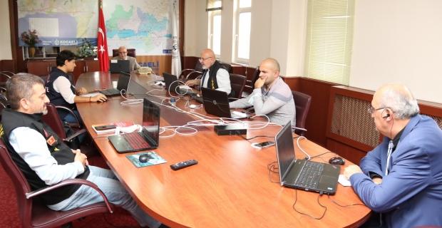 Belediyelerde Afet ve Acil Durum Yönetimi Çalıştayı online olarak yapıldı