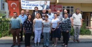 CHP Başiskele bayramlaştı