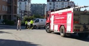 Para nakil aracı kamyonla çarpıştı: 3 yaralı