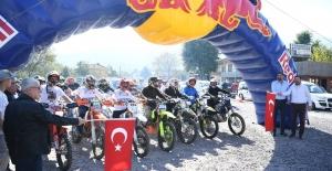 Kartepe'de Enduro Cross Yarışları