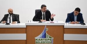 Kartepe Belediye Meclisi 6 maddeyi karara bağladı