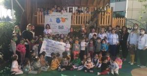 Lösemili Çocuklar Haftası'nda  Kids miniklerinin duyarlılığı