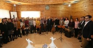 Derince Toplum Ruh Sağlığı Merkezi'nde müzik dinletisi
