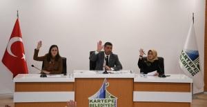 Kartepe Belediyesi'nin aralık ayı meclis toplantısı