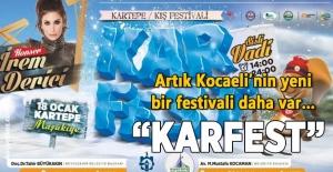 KarFest için geçici güzergah oluşturuldu