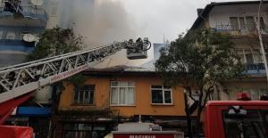 Sobadan çıkan yangın evi kül etti