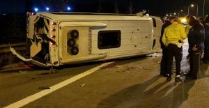 Düğün dönüşü feci kaza: 10 yaralı