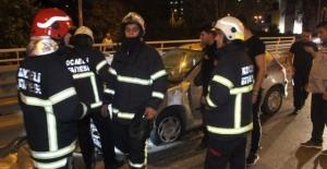 Otomobil halk otobüsü ile çarpıştı: 1 ölü