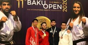 İzmitli karateciden gümüş madalya