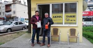 Taksicilere 'dezenfekte' pompası