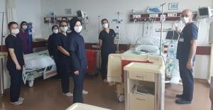 Sağlık çalışanlarına Covid-19 eğitimleri sürüyor