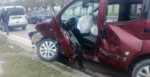 Yaralamalı trafik kazası