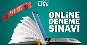 Akademi Lisede online deneme sınavları