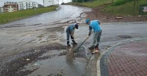İzmit'te metrekareye  62 kg yağış düştü