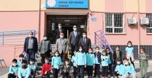 Başkan Söğüt'un okul ziyareti