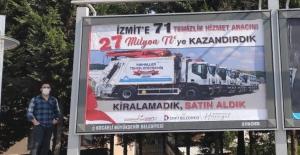 """Soydabaş: """"Ey İzmit, paran Gebze'de reklama harcanıyor"""""""