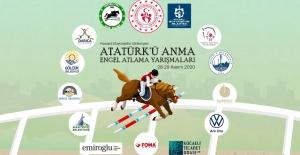 Atatürkü Anma Engel Atlama Yarışması...
