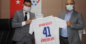 Başkan Söğüt, Vefa Spor Kulübü'nü ziyaret etti