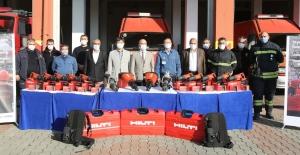 Hyundai Assan'dan itfaiyeye ekipman desteği