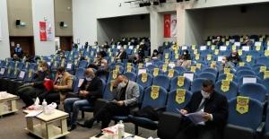 Körfez Belediyesi'nden esnafa 1.000'er lira ayni yardım