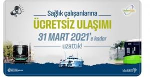 Sağlık çalışanlarına ücretsiz ulaşım, 31 Mart'a kadar uzatıldı