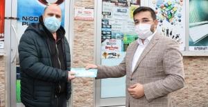 Esnafa nefes aldıracak kartların  dağıtımına başlandı