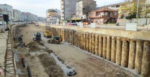 Karamürsel Köprülü Kavşağında tünel kazısına başlandı