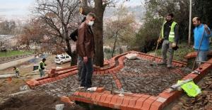 Sultan Baba Türbesi Tarihi Hamam restorasyonunda titiz çalışma