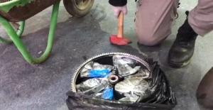 Yolcu otobüsünde 38 kilo 550 gram uyuşturucu ele geçirildi