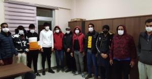 Kocaeli'de kaçak göçmen operasyonu: 15 gözaltı