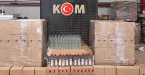 15 ton etil alkol ele geçirildi