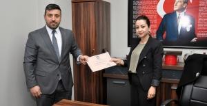 BBP İzmit İlçe Başkanı Aladağ, mazbatasını aldı