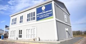 Kartepe'nin Sivil Toplum Merkezi tamamlanıyor
