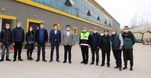 Büyükşehir Mezbahası, Ukraynalı heyete örnek oldu