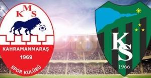 Deplasmandan galip döndük: Kahramanmaraş 0-Kocaelispor 2