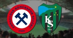 Zonguldak Kömürspor-Kocaelispor  MAÇ SONUCU: 2-3