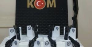 3 ilde silah kaçakçılığı operasyonu: 22 gözaltı