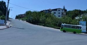 Başiskele Beyoğlu Caddesi asfaltlandı
