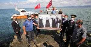 Büyük Önder Atatürk'ün Karamürsel'e Gelişinin 88. Yıldönümü Kutlandı