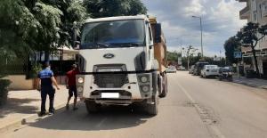 Tır ve kamyona, mahalle içinde park yasak