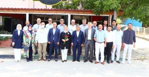 Emine Zeybek'ten Kandıra'da bir dizi ziyaret